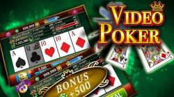 Pocket Aces, Video Poker Machine, 10s, Queen, Bonus